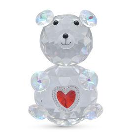 Crystal Glass Deco-Crystal Glass Deco Bear- Height:11cm