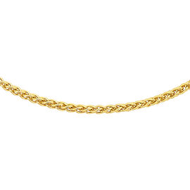 JCK Vegas Collection ILIANA 18K Yellow Gold Spiga Chain (Size 20), Gold wt. 2.70 Gms.