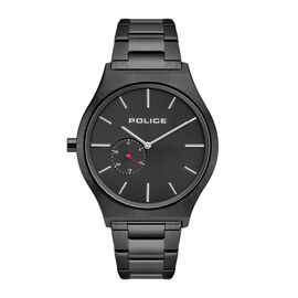 POLICE Orkneys Watch Stainless Steel Case with Black Dial