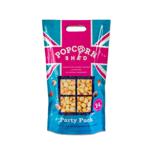 POPCORN SHED: 14 Piece Snack Pack Party Pack