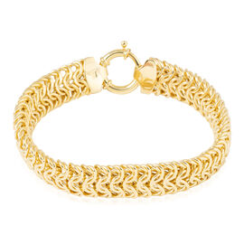 Vicenza Collection 9K Yellow Gold Bracelet (Size 7.5), Gold wt 13.20 Gms.