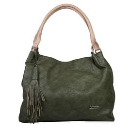 Bulaggi Collection - Scarlett - Hobo Bag (38x32x16 cm) - Khaki Green