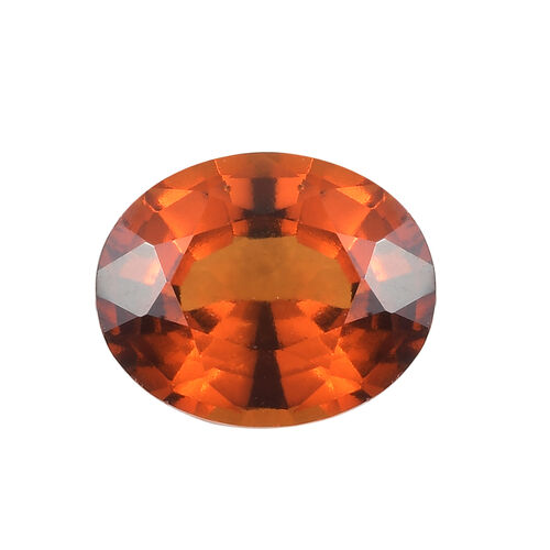AAA Hessonite Garnet Oval 11x9 Faceted 4.37 Cts