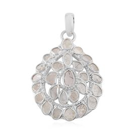 Artisan Crafted Polki Diamond Pendant With Chain (Size 18) 1.70 Ct.
