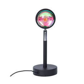 Christmas Gift Idea- 12 Colour Changing Sunset Table Lamp with Remote Control (Size 10x27 Cm)