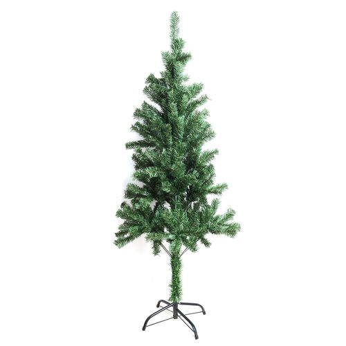 4.9 ft Tall Christmas Tree with Iron Base