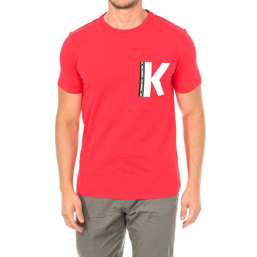 Karl Lagerfeld - Mens Logo T-Shirt Short Sleeve (Size S) - Red