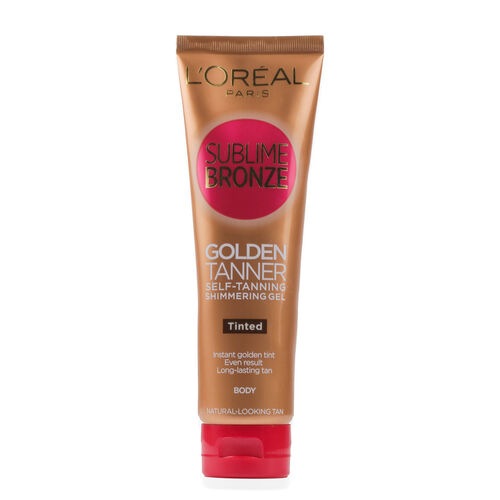 Beauty Products -Bronze Tinted Shimmer Gel 150ml Med