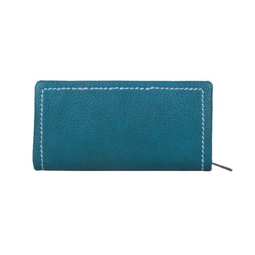 Bulaggi Collection Deb Clutch Wallet in Teal (10X19X3cm)