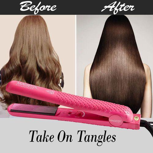 Magestic: 1.25 Hair Straightener - Red