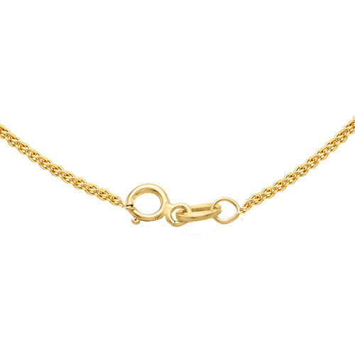 JCK Vegas Collection ILIANA 18K Yellow Gold Spiga Chain (Size 20), Gold wt. 2.60 Gms.