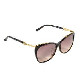Night Owl Special - SWAROVSKI - Sunglasses With Gold Trim