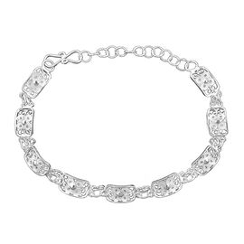 Royal Bali Frangipani Bracelet in Silver 6.84 grams 7 with 1.5 inch Extender