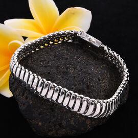 Royal Bali Collection - Sterling Silver Bracelet (Size - 7.5) Silver Wt 41.00 Grams