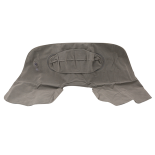 Deluxe Inflatable Pillow (Size 43X30 Cm) - Grey