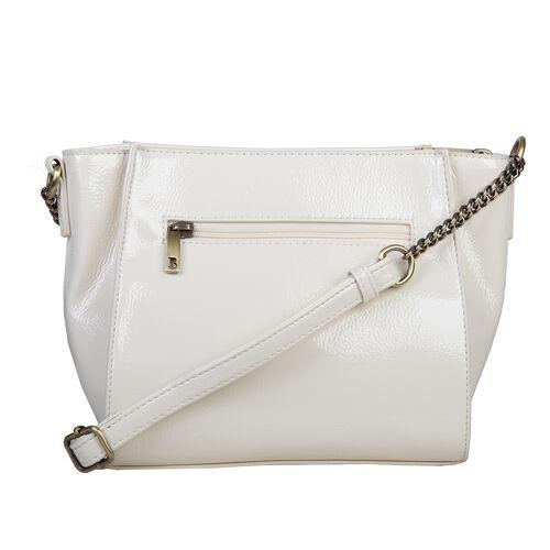 Bulaggi Collection Lily Crossbody Bag in Bone Colour