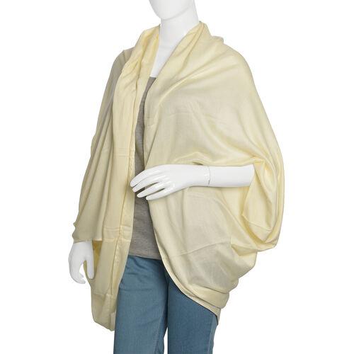 Cream Casual Drape Cardigan (Free Size)