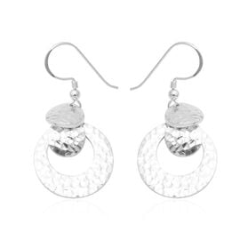 Dangle Hook Earrings in Sterling Silver 9.87 Grams