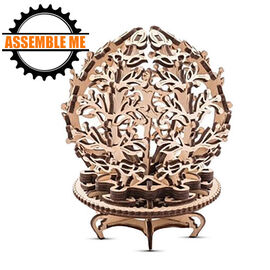 UGears Mechanical Flower Wooden Model Kit