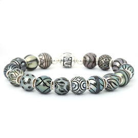 Galatea Pearl - Tahiti Pearl Queen Bracelet (Size 7) with Lock in Sterling Silver