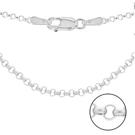 Sterling Silver Belcher Chain (Size 22)