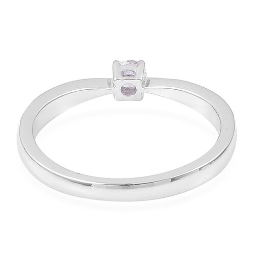 ILIANA 0.25 Carat Diamond IGI Certified (SI/G-H) Engagement Ring in 18K White Gold