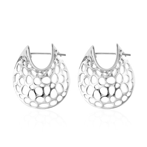 RACHEL GALLEY Lattice Collection - Rhodium Overlay Sterling Silver Earrings (with Clasp)