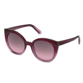 SWAROVSKI Purple Cat-Eye Sunglasses