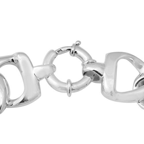 Thai Sterling Silver Bracelet (Size 8) with Senorita Clasp