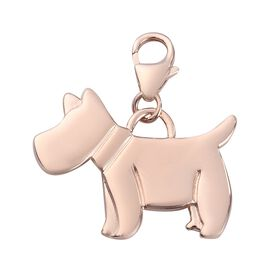 Rose Gold Sterling Silver Charm