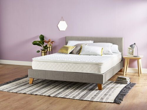 Serenity Pillowtop Pocket Spring Memory Foam Mattress with Vitafoam REVO Technology - Depth 24cm + P