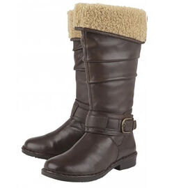 Lotus Brown Leather Dandy Knee High Boots