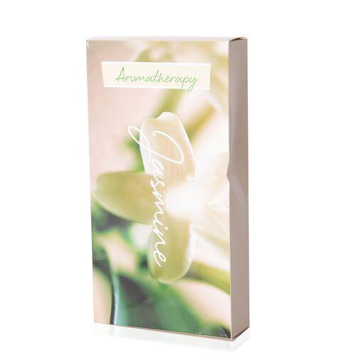 4 Piece Set - Jasmine Flowers Sachets in Gift Box (Size 22.5X7.5 Cm)