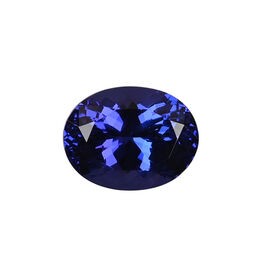 AAAA Tanzanite Oval 13.20X10.20X7.94 Faceted 7.99 Ct.