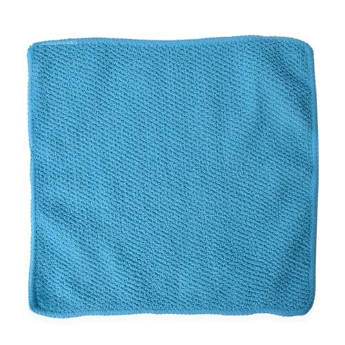 Double Face Technology Towel: Turquoise Colour Double Sided, Multifunctional