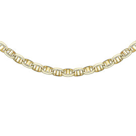 Hatton Garden Close Out Deal 9K Yellow Gold Rambo Necklace (Size 20), Gold wt 12.40 Gms.