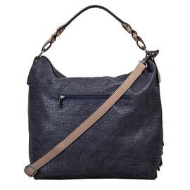 Bulaggi Collection  - Scarlett - Handbag With Adjustable and Removable Strap (32x32x13 cm) - Dark Bl