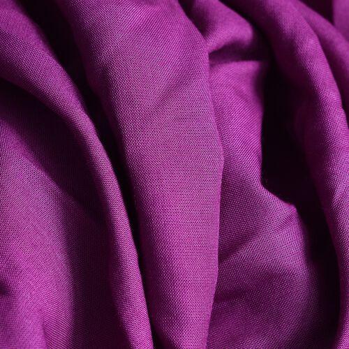 Close Out Deal-Purple Colour Cross Over Wrap Drape Top (Free Size)