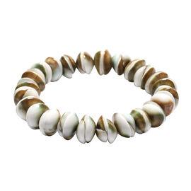Collectors Edition - Shiva Eye Shell Stretchable Bracelet (Size 6.5)
