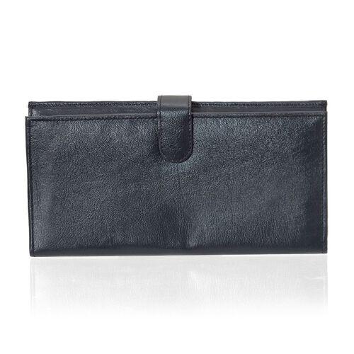 Close Out Deal Black Colour Genuine Leather Ladies Purse