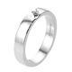 RHAPSODY 950 Platinum IGI Certified Diamond (VS/E-F) Band Ring Platinum Wt 6.79 Gms