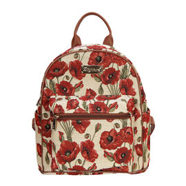 SIGNARE  - Tapestry Collection -Poppy Casual Backpack                     (26x28x14 cms)