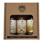 Just Oil 3x100ml Gift Pack (Balsamic,Truffle,Roasting)