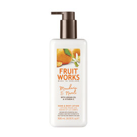 Fruitworks: Mandarin & Neroli Hand & Body Lotion(With Argan Oil & Vitamin E) - 500ml