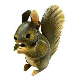 Grey Squirrel Ornament