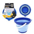 5L Folding Bucket - Blue (20x25x15 Cm)