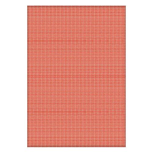 100% Cotton Orange and Multi Colour Bed Cover (Size 240x170 Cm)