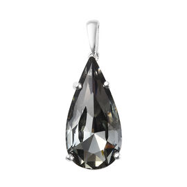 Biggest Swarovski Close Out- J Francis - Crystal from Swarovski Black Diamond Colour Crystal (Pear)