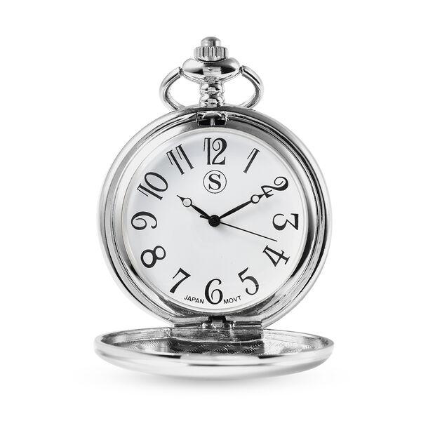 Personalised Engravable Strada Japanese Movement Pocket Watch