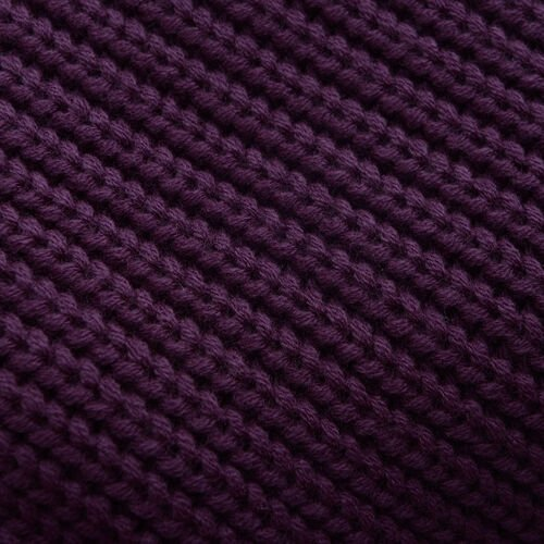 Burgundy Colour Cap (Size 30x20 Cm) and Muffler (Size 150x25 Cm)